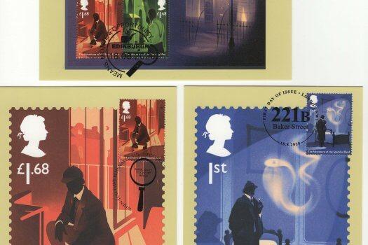 Sherlock Stamp Cards image 3