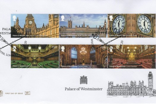 Stuart Palace of Westminster FDC