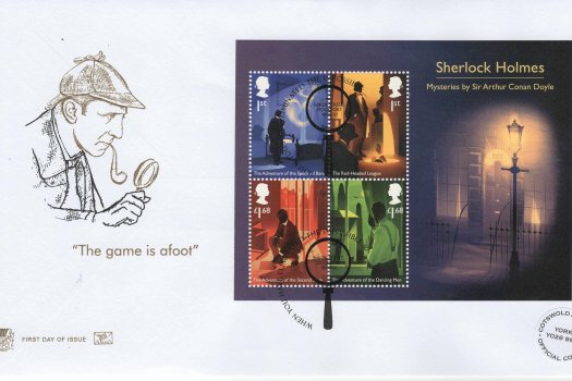 Stuart Sherlock Minisheet Limited Edition FDC