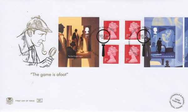 Stuart Sherlock Retail Booklet Limited Edition FDC