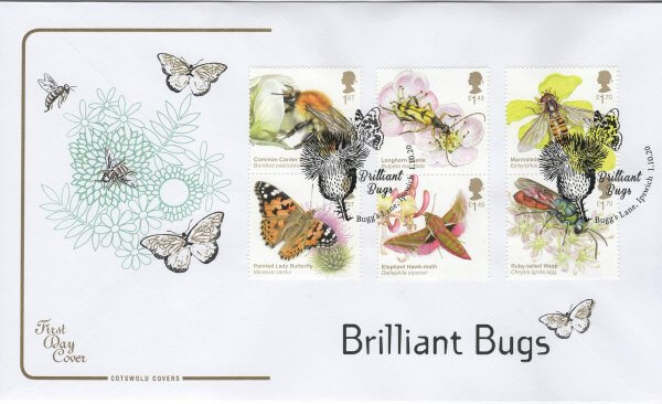 Cotswold Brilliant Bugs FDC