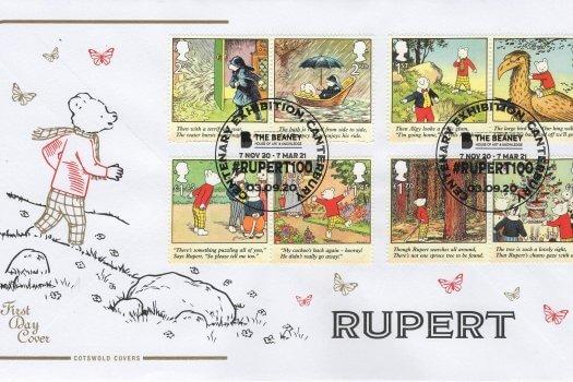 Rupert Bear Cotswold FDC