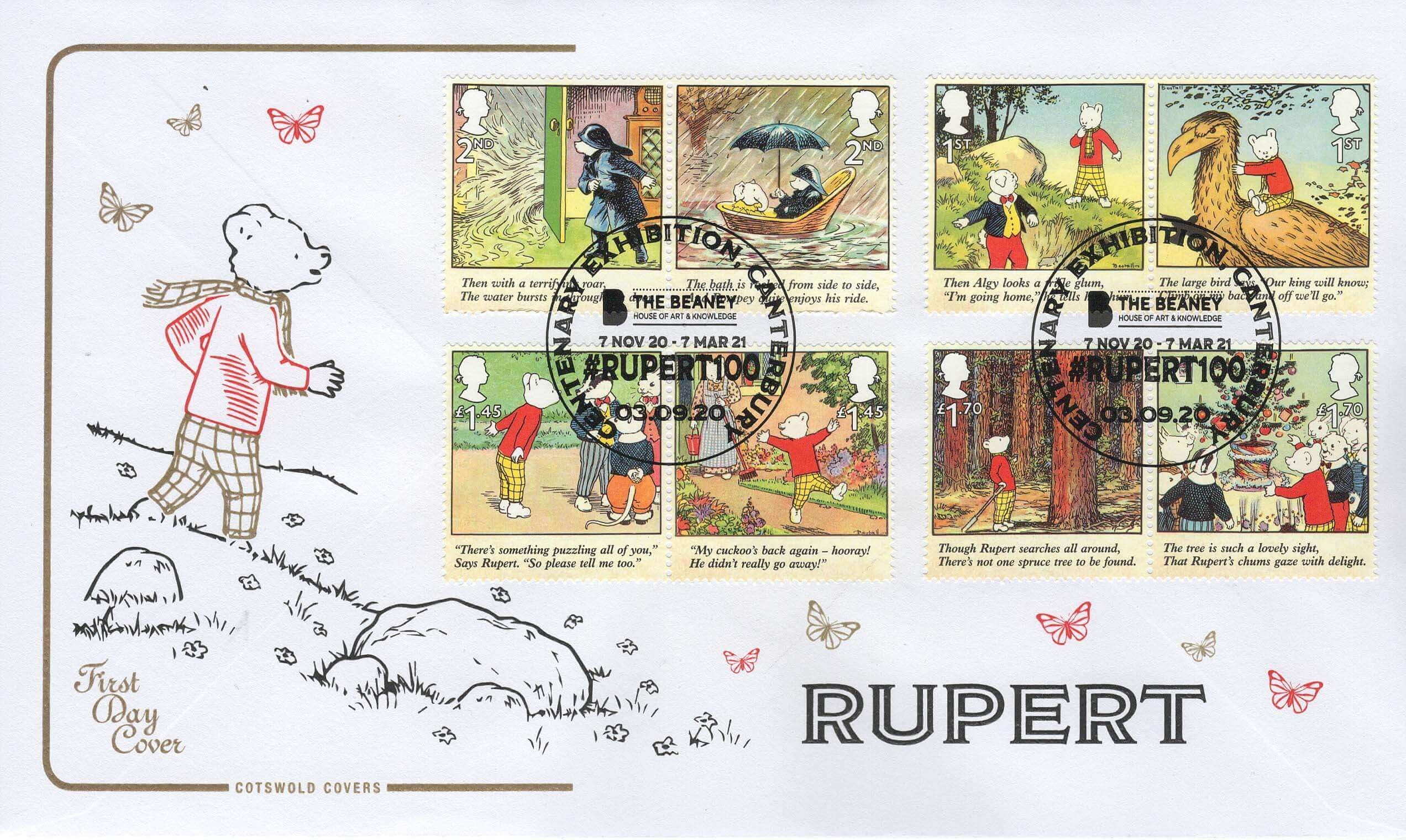 Rupert Bear & The Brilliant Bugs