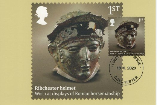 roman Britain stamp card