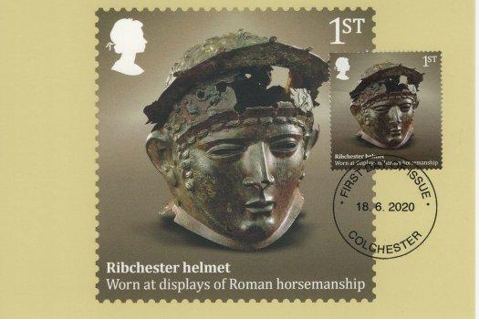roman Britain stamp card