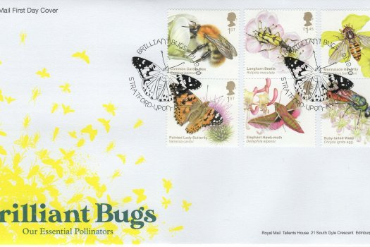 Royal Mail Brilliant Bugs FDC