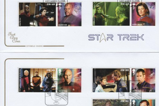 Cotswold Star Trek GS FDC 1