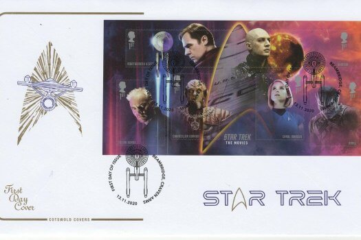 Cotswold Star Trek MS FDC