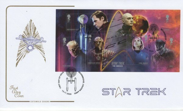 Cotswold Star Trek MS FDC