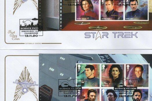 Cotswold Star Trek PSB FDC 1