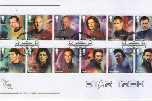 Cotswold Star Trek fdc