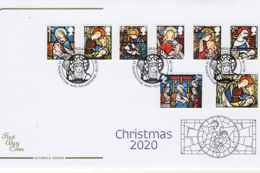 Cotswold Xmas FDC