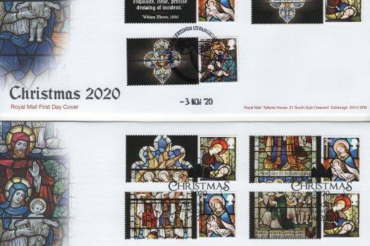 RM Xmas 2020 Generic Sheet FDC 1