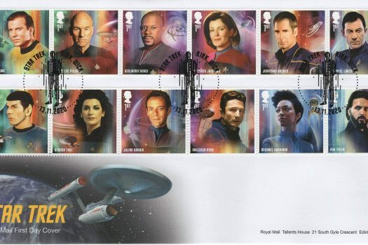 Royal Mail Star Trek FDC