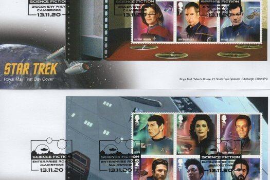 Royal Mail Star Trek PSB FDC 1