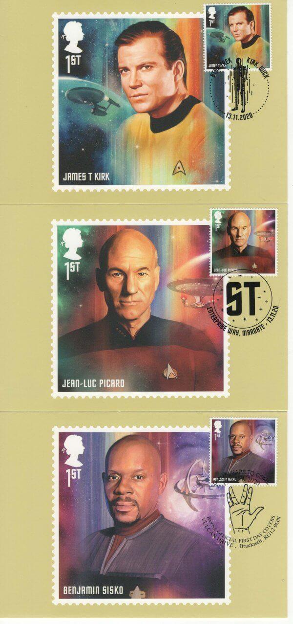 Star Trek Postcard Image 1