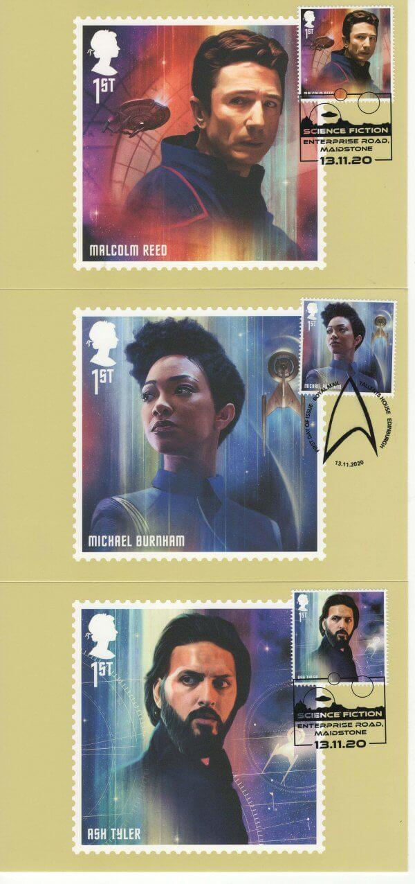 Star Trek Postcard Image 4