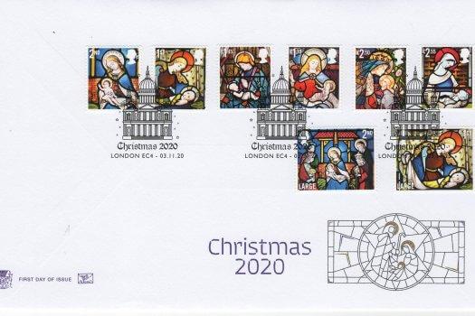 Stuart Christmas 2020 FDC