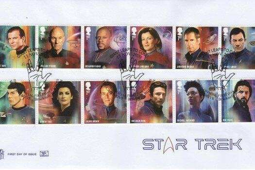 Stuart Star Trek FDC