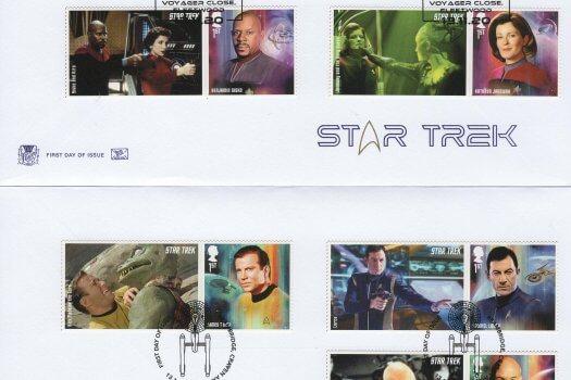 Stuart Star Trek GS FDC 1