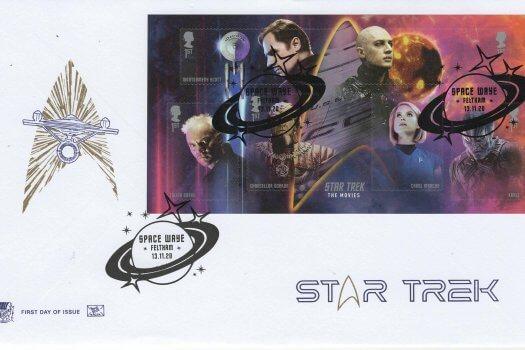 Stuart Star Trek MS FDC