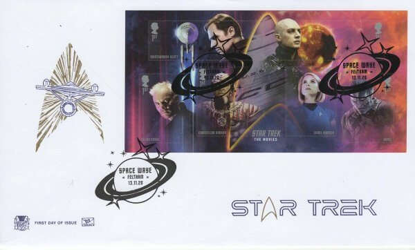 Stuart Star Trek MS FDC