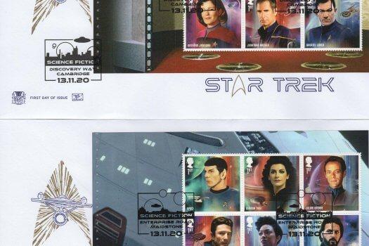 Stuart Star Trek PSB FDC 1
