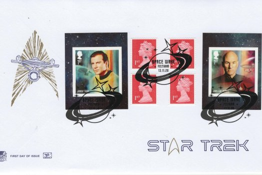 Stuart Star Trek Retail Book FDC