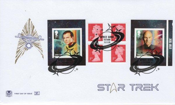 Stuart Star Trek Retail Book FDC