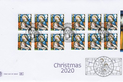 Stuart Xmas 2020 Retail Book FDC 2nd