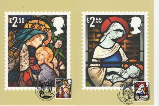 Xmas 2020 Stamp Cards Front 4