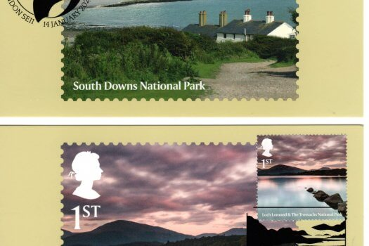 National Parks Stamp Cards Image 3