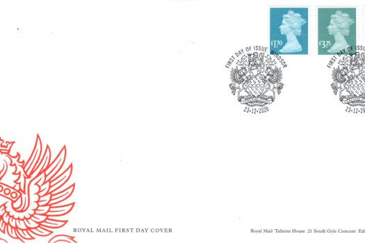 Royal Mail National Definitive Dec 2020 FDC