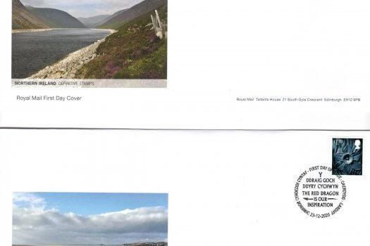 Royal Mail Regional Definitive 2020 FDC Image 2