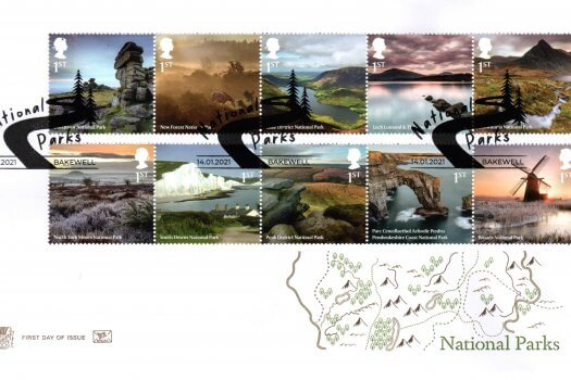 Stuart National Parks FDC