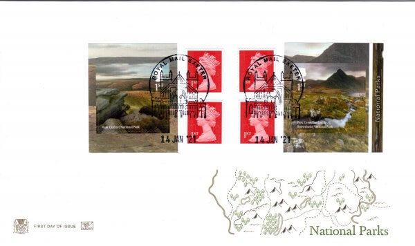 Stuart National Parks Retail Booklet FDC