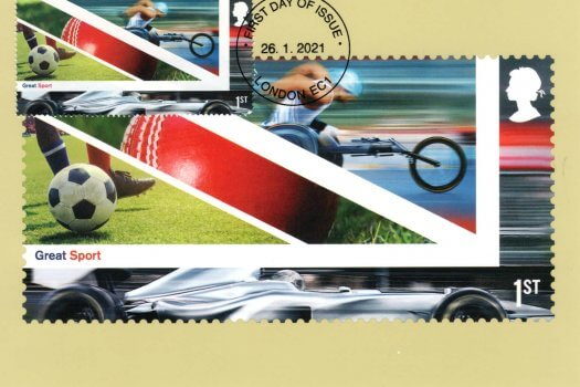 UK A Celebration Stamp Cards Image 1