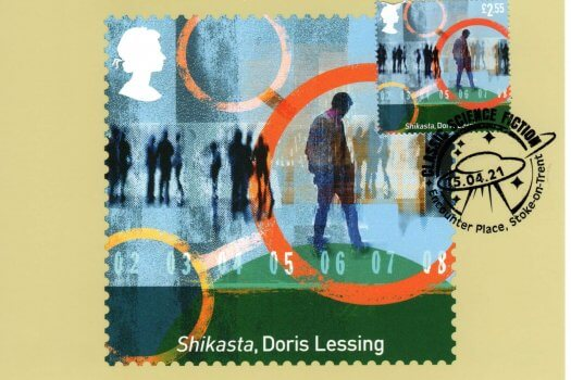 Classic Science Fiction Stamp Cards image 2