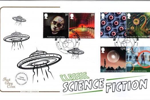 Cotswold Classic Sci-Fi FDC