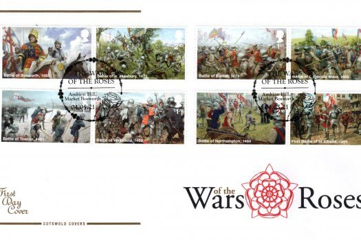 Cotswold War of the Roses FDC