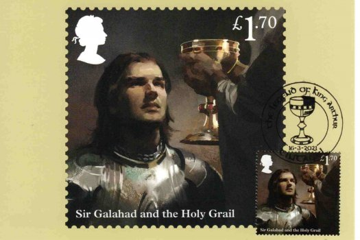 King Arthur Stamp Cards 4