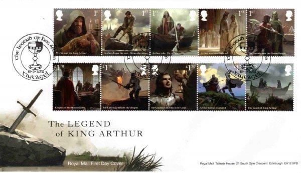 RM King Arthur FDC