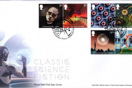 Royal Mail Classic Sci-Fi FDC