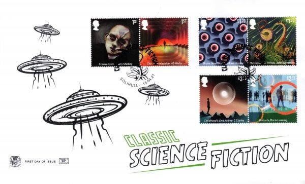 Stuart Classic Sci-Fi FDC