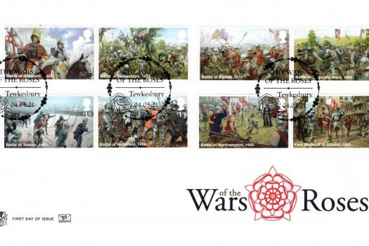 Stuart War of the Roses FDC