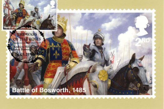 War of the Roses Stamp Cards image 1