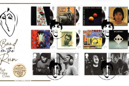 Cotswold Limited Edition Paul McCartney FDC