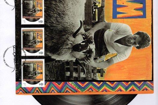 Paul Mccartney RAM Album Fan Sheet FDC