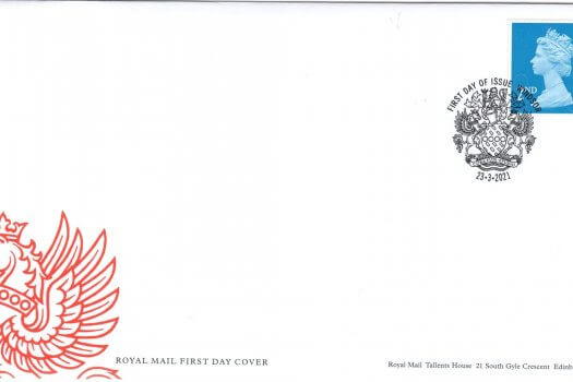 Royal Mail 2nd Class Barcoded FDC
