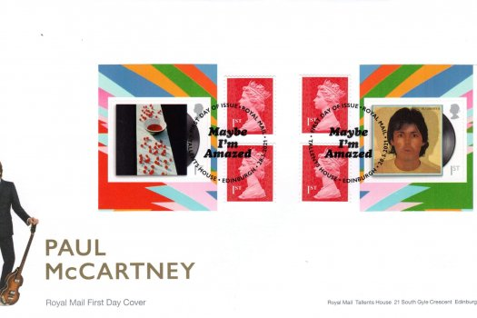 Royal Mail Paul McCartney Retail Booklet FDC